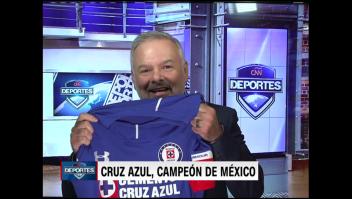 ¡Cruz Azul campeón! El desahogo de Raúl Sáenz
