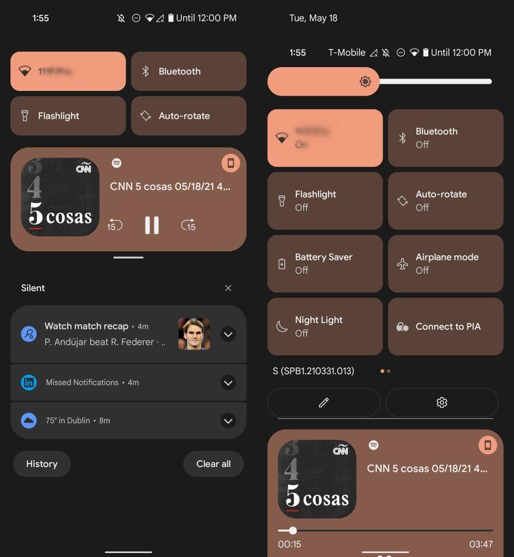 Android 12 descargar notificaciones
