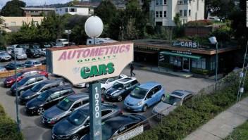 Lote de automóviles usados