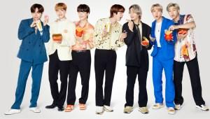 BTS McDonald's