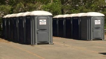 Demanda de baños portátiles