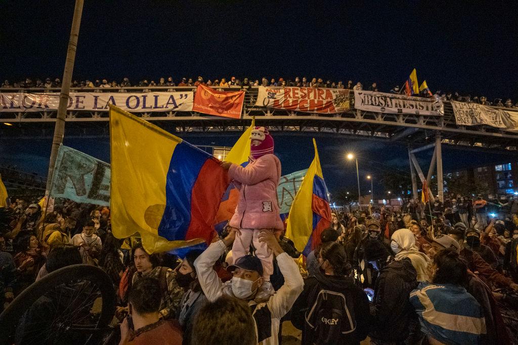 Bogotá protestas
