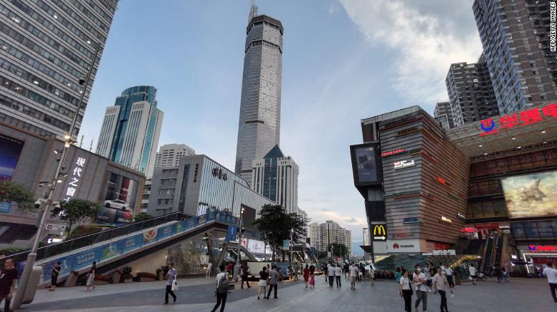 chinese skyscraper