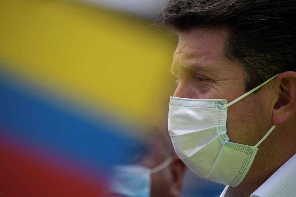 ministro de Defensa de Colombia, Diego Molano.