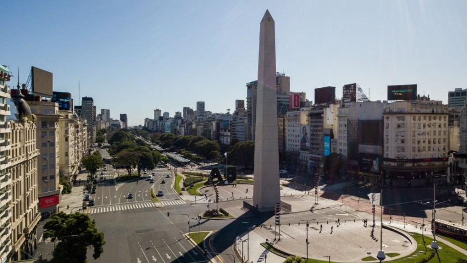 Argentina confinamiento panorámica Buenos Aire