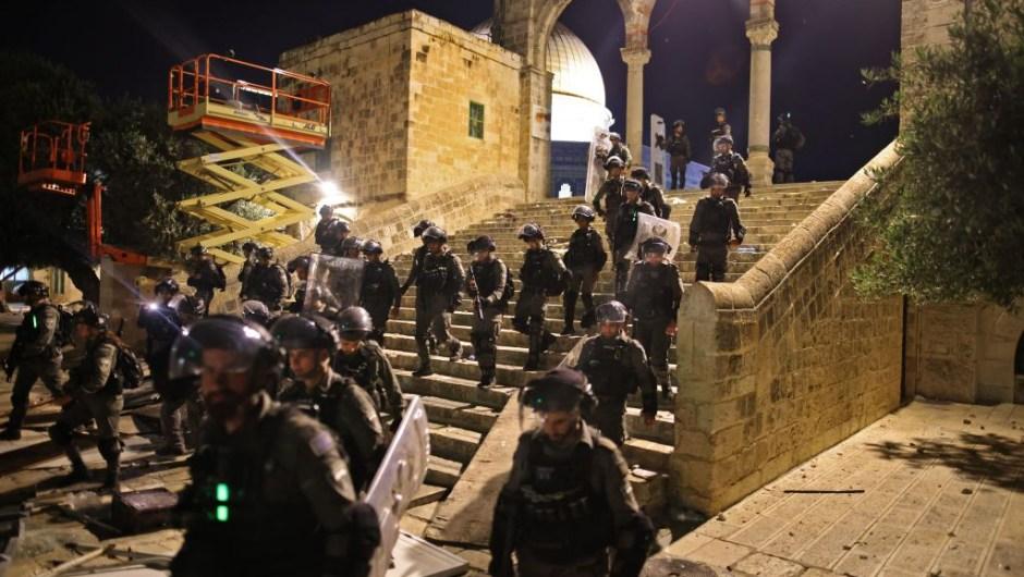 Tensión Jerusalén