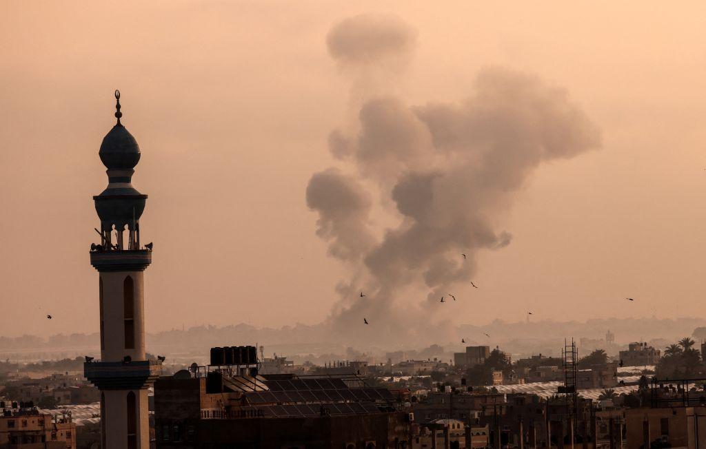 FOTOS | Tensión en Jerusalén: disparan cohetes desde Gaza; Israel responde con ataque aéreo