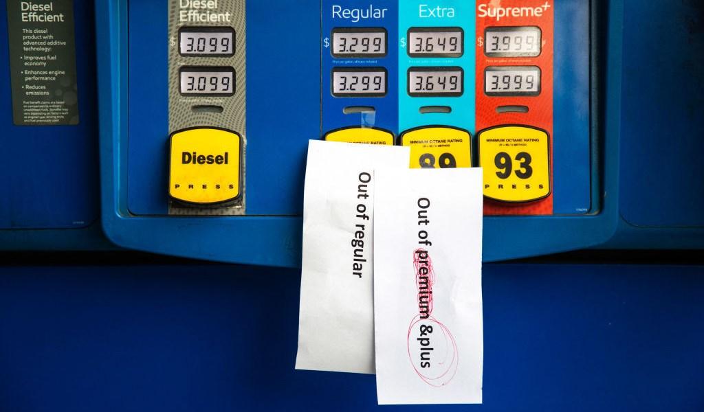 Desabastecimiento de gasolina en Estados Unidos