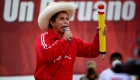 Pedro Castillo campaña candidato presidencial Perú