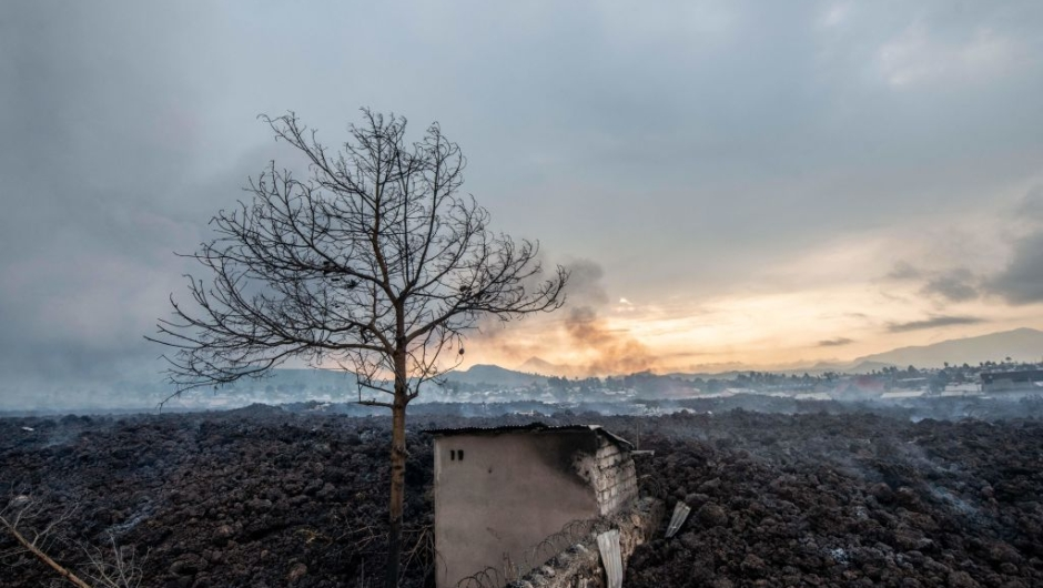 15 people died after deadly volcano eruption in the Democratic Republic of Congo