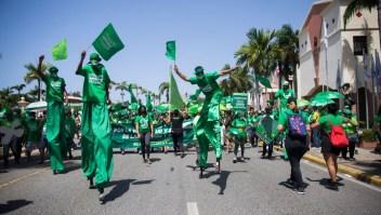 Marcha Aborto Despenalización Santo Domingo República Dominicana