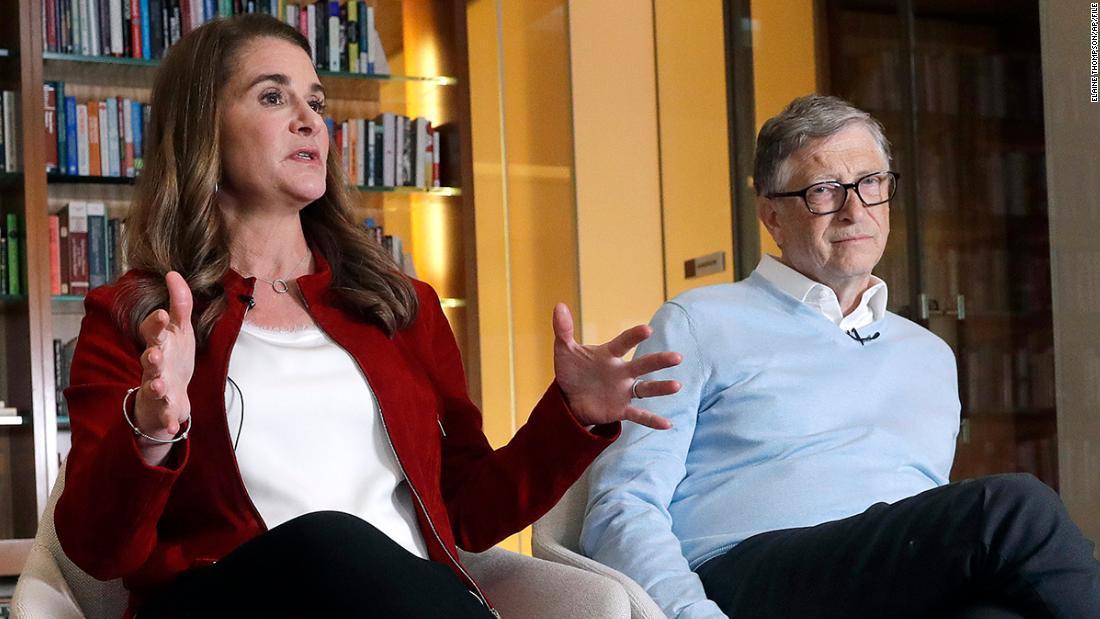 Bill y Melinda Gates han discutido sobre el divorcio desde 2019