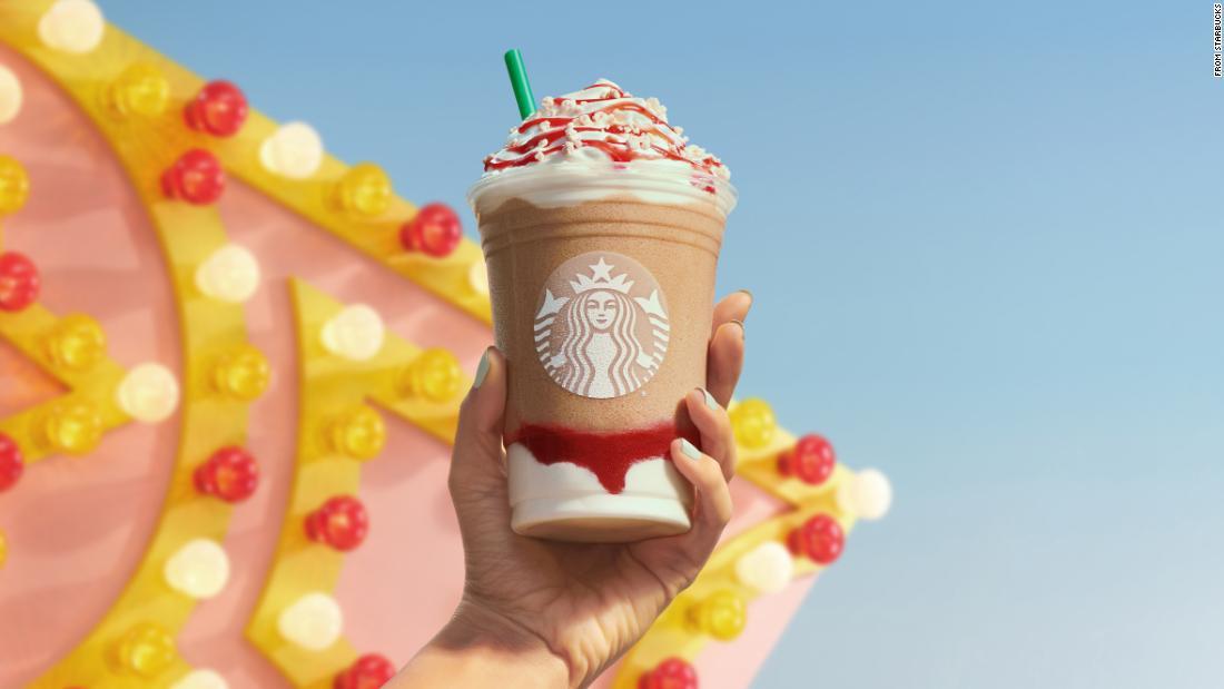 Nuevo frappuccino de Starbucks verano 2021