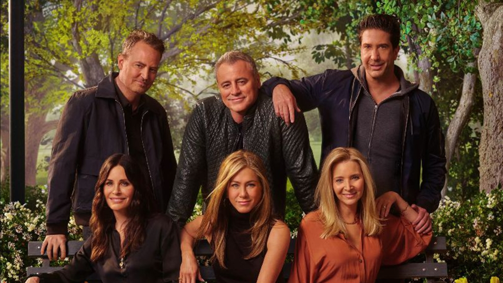 friends reunion hbo max poster