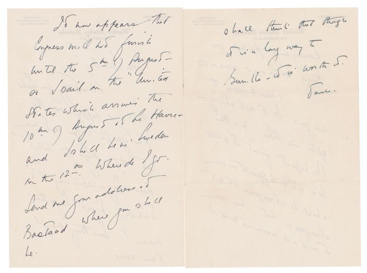 Cartas de amor JFK Kenney amante sueca