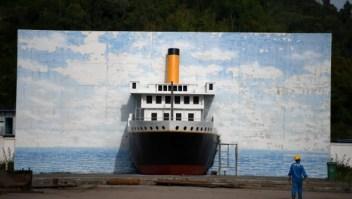 Una réplica del Titanic está en construcción en China