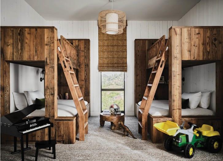 Mila Kunis und Ashton Kutcher Barn