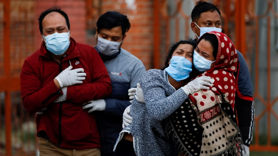 Pandemia mundo covid-19 división