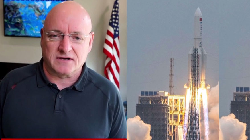 china cohete exastronauta scott kelly sot