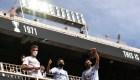 Día feliz para el fútbol: hinchas regresan a los estadios en España