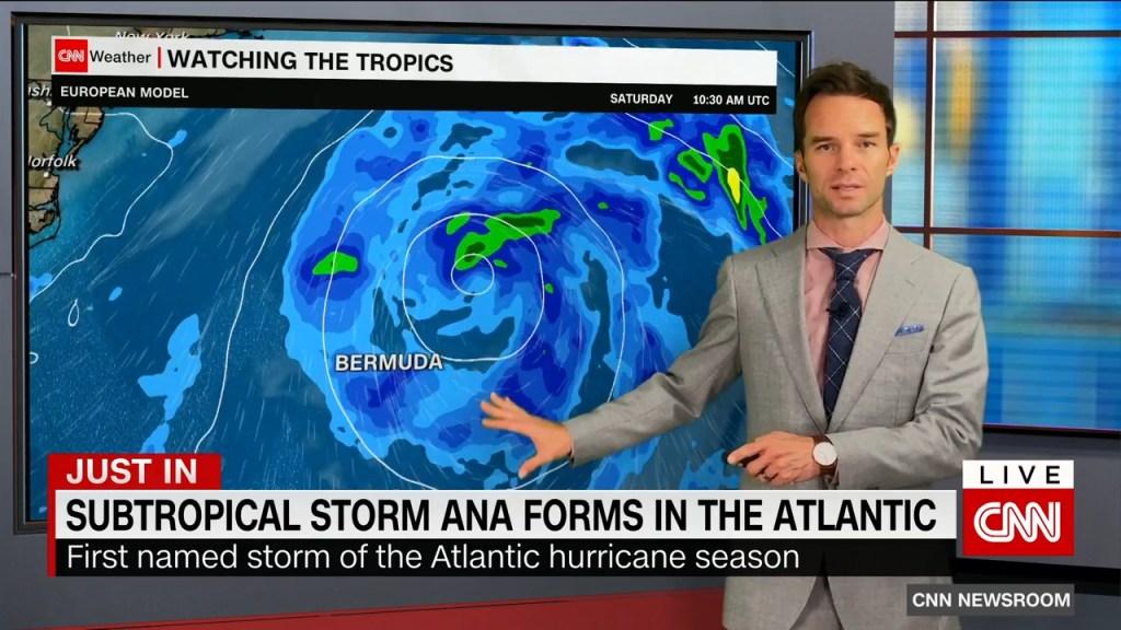 Se forma la primera tormenta con nombre de la temporada de huracanes del Atlántico