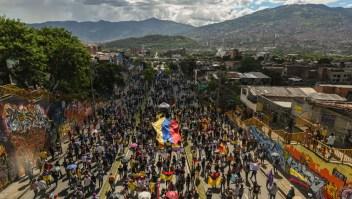 Hubo enfrentamientos y disturbios en Bogotá durante el fin de semana