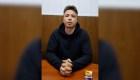 Disidente de Belarús detenido aparece en un nuevo video