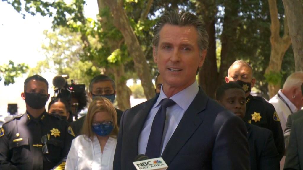 """""""¿Qué diablos nos pasa?"""", dice gobernador de California"""