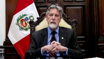 "Sagasti tilda de ""terroristas"" a responsables de asesinato"