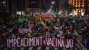 Masivas protestas en Brasil contra el gobierno
