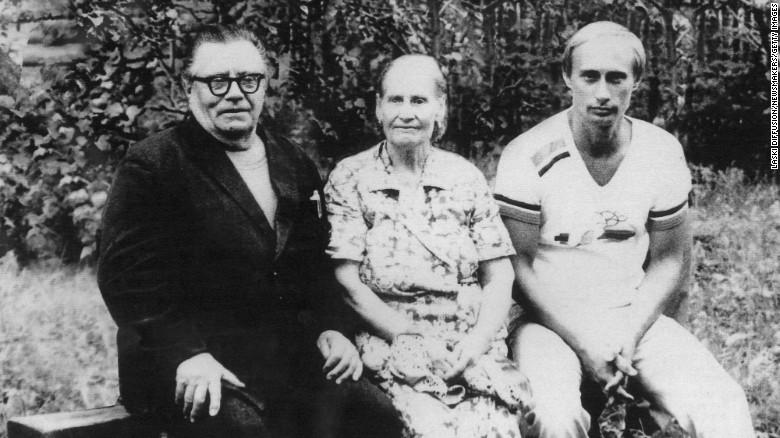 Vladimir Putin familia