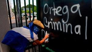 Alemán: En Nicaragua, cárcel o muerte a quienes protestan