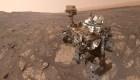 El rover Curiosity busca sal en Marte