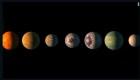 Estos exoplanetas observarían la evolución de la Tierra