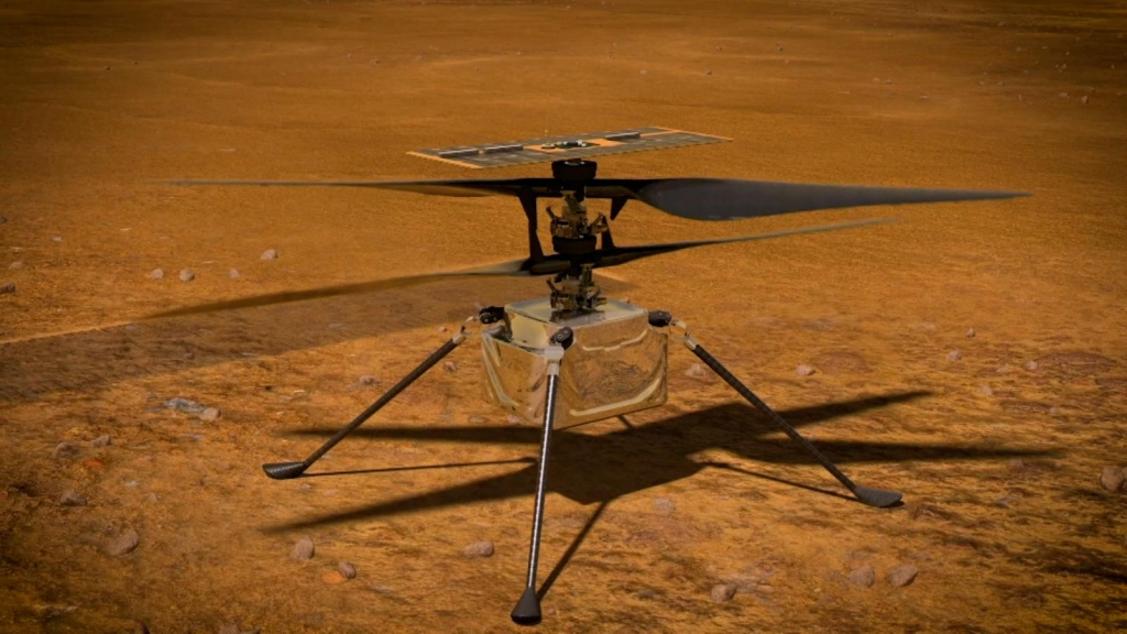 Ingenuity is already on its seventh flight on Mars