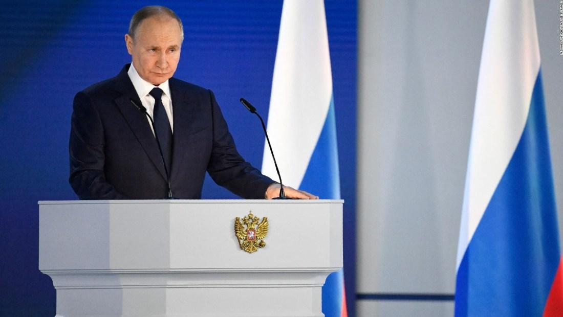 Putin dice que es una farsa que Rusia ataque a EE.UU.