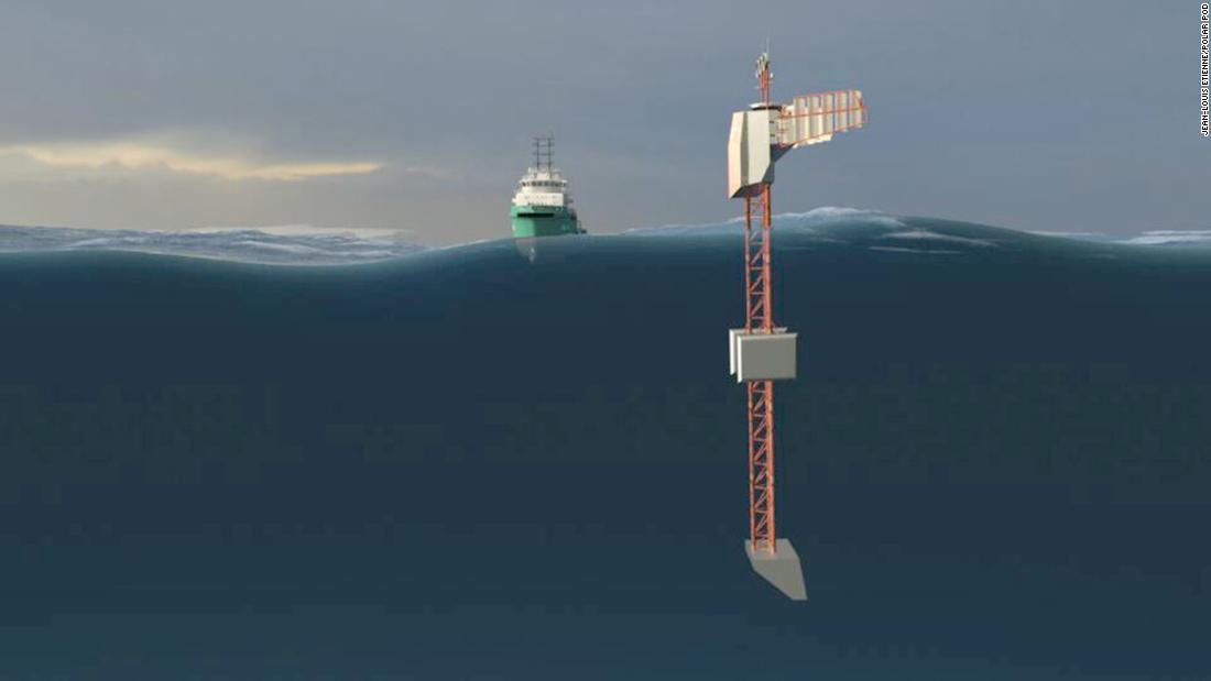 Polar Pod: laboratorio flotante investigará aguas de la Antártida.