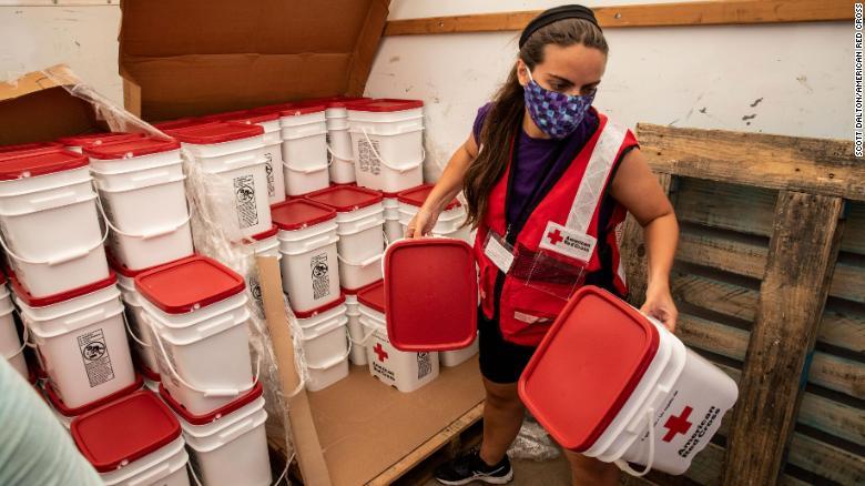 Centros de ayuda para desastres naturales