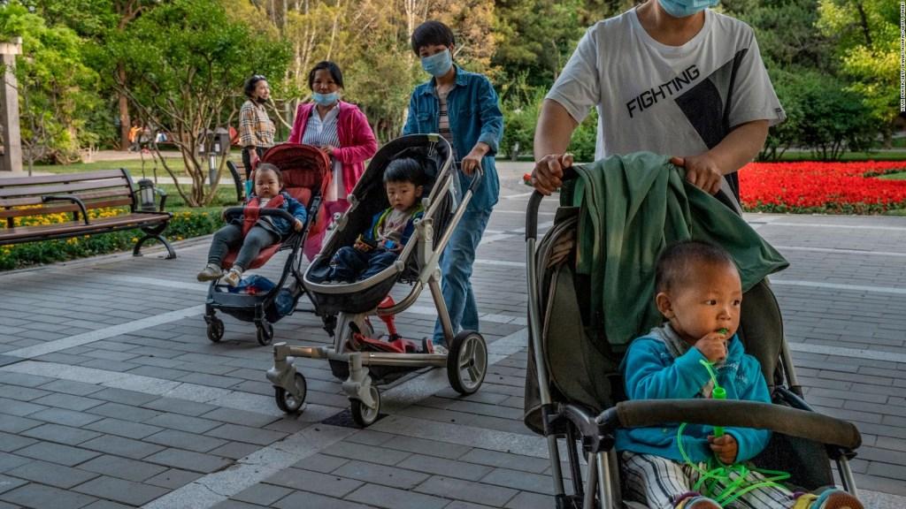 La política de tres hijos en China genera resistencia