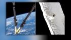 Debris damages the International Space Station