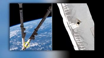 Desechos dañan la Estación Espacial Internacional