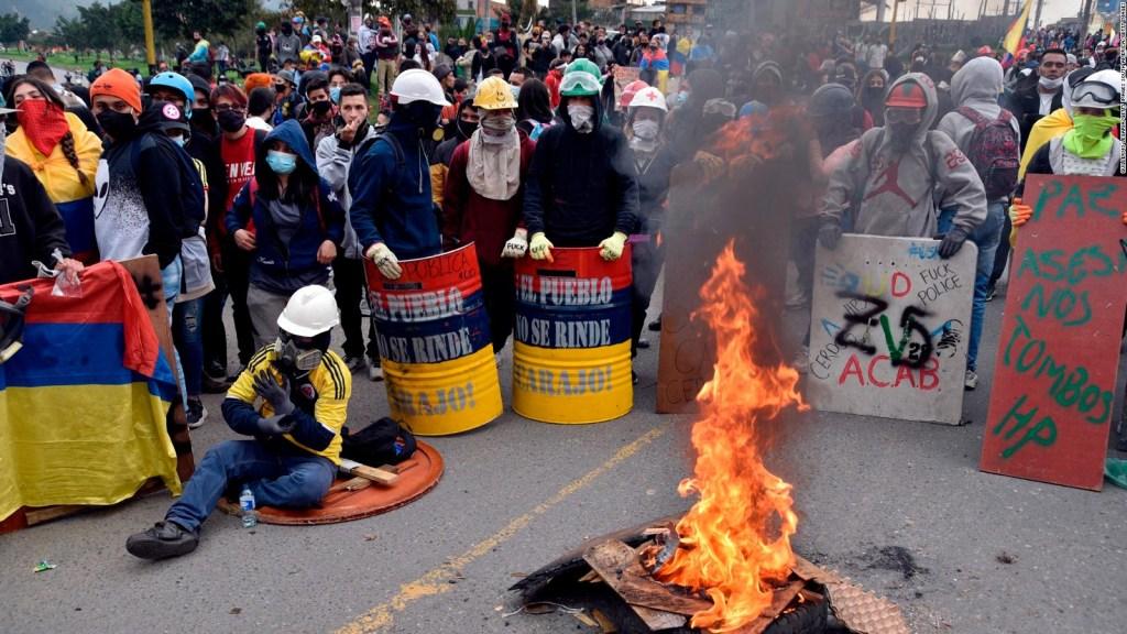 La fórmula de Pastrana para que cesen protestas en Colombia