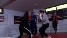Boxeo empodera a mujeres en Gaza