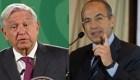 López Obrador: Le deseo pronta recuperación a Calderón