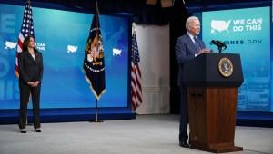 Biden: Ponte una vacuna y tómate una cerveza