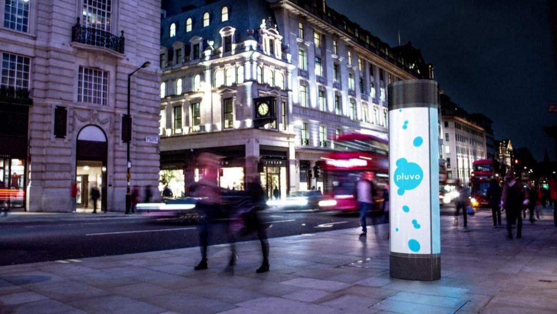 Este anuncio publicitario limpia el aire, ¿cómo lo hace?