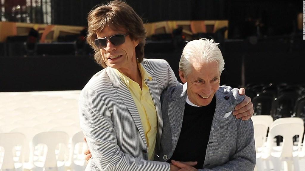 Mick Jagger accueille Charlie Watts pour son anniversaire