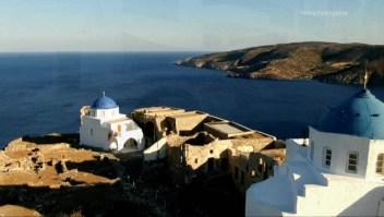 Esta isla griega avanza hacia un futuro de energía verde