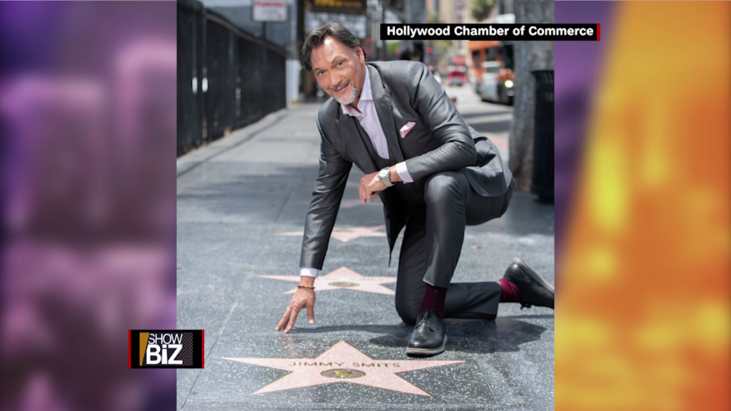 Jimmy Smits earns Hollywood Walk of Fame star