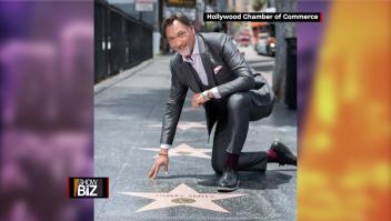 Jimmy Smits obtiene la estrella del Paseo de la Fama de Hollywood